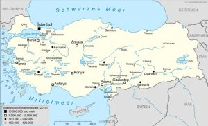 Carta della Turchia
